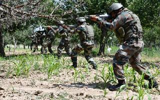 3 security men, top Lashkar terrorist injured in Poonch encounter as..