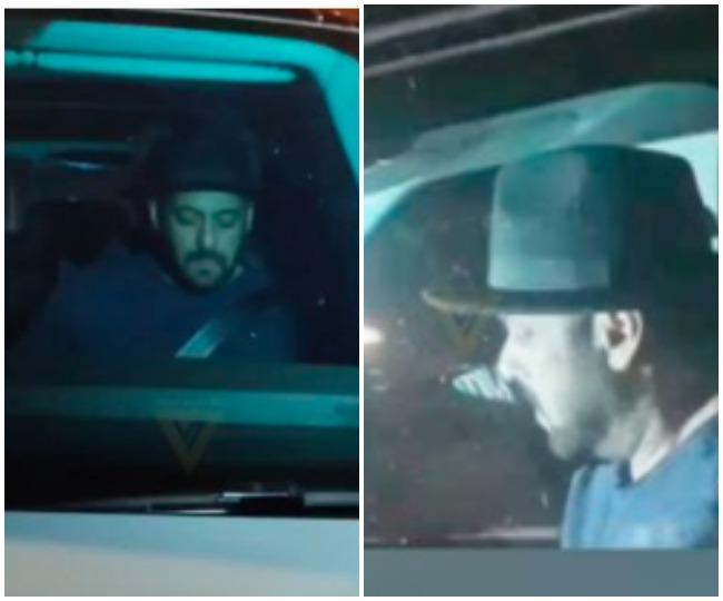 Salman Khan visits Shah Rukh Khan's residence after Aryan's arrest | See pics inside