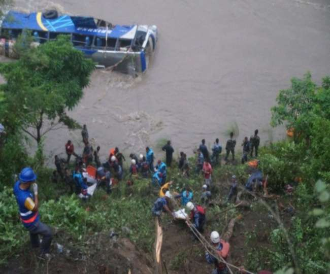 32 killed, several injured in bus accident in Nepal's Mugu district