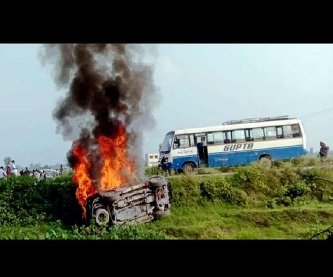 Lakhimpur Kheri Violence: Priyanka Gandhi arrested in Sitapur; Ajay Mishra says 'son not guilty, ready for probe'