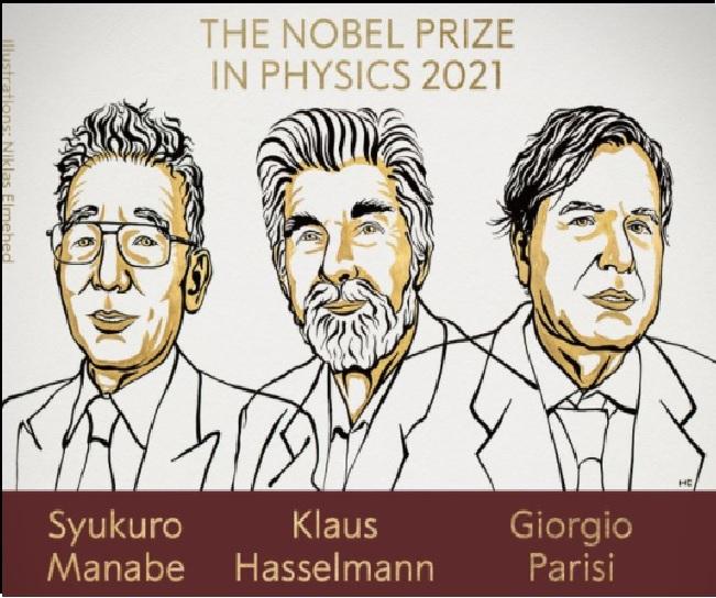 Syukuro Manabe, Klaus Hasselmann and Giorgio Parisi awarded 2021 Nobel Prize in Physics for 'groundbreaking contributions'