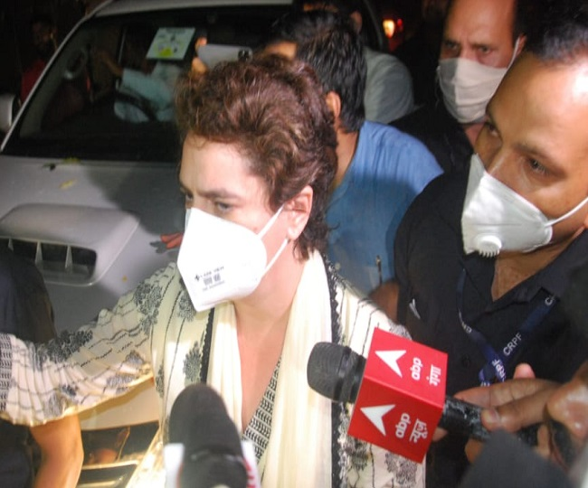 Lakhimpur Kheri Violence: Priyanka Vadra arrested, claims Congress as toll rises to 8; internet suspended | 10 Points
