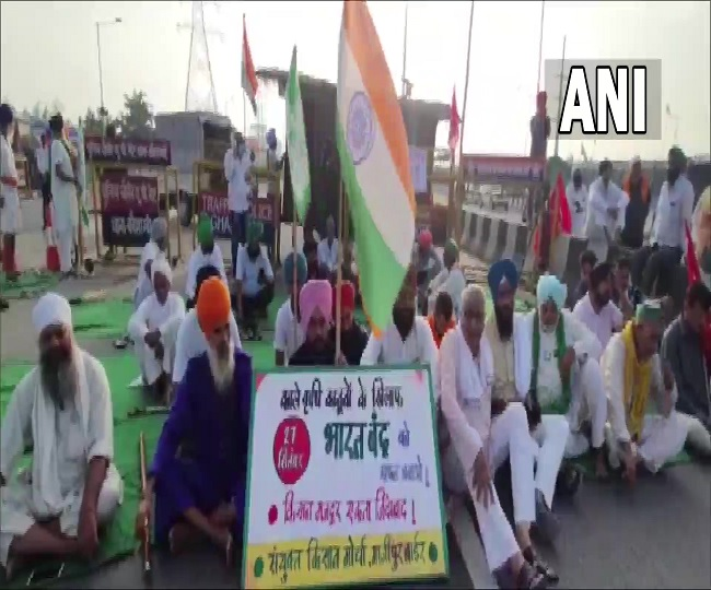 Bharat Bandh: Life returns to normal as shutdown ends; traffic movement resumes at Delhi borders; Tikait says 'strike successful'