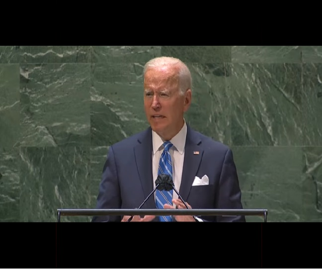 Afghanistan diplomacy, new cold war and COVID-19: What Joe Biden said in his speech at UNGA