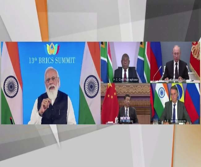 BRICS leaders call for 'peaceful settlement' of Afghan crisis, adopts 'New Delhi Declaration'