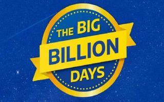 Flipkart Big Billion Days sale to start soon; get discount up to 80% on..