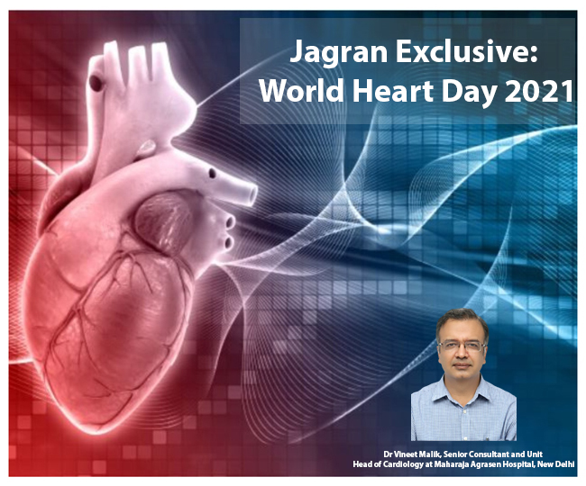Jagran Exclusive: What is the difference between heart attack and heartburn? Know from expert on World Heart Day 2021