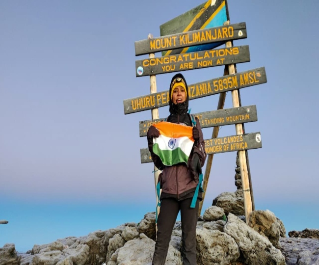 Geeta Samota, CISF official, scripts history to become 'fastest Indian' to summit 2 peaks