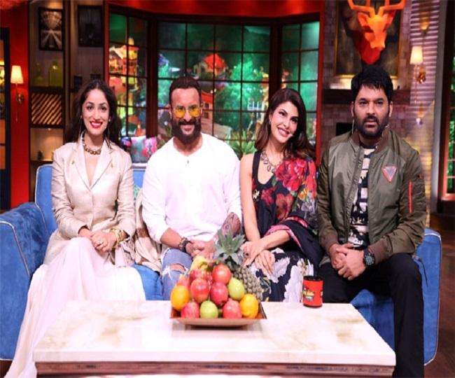 TKSS: Bhoot Police cast including Saif Ali Khan, Jacqueline Fernandez appear as guests; Yami Gautam reveals her family honeymoon plan