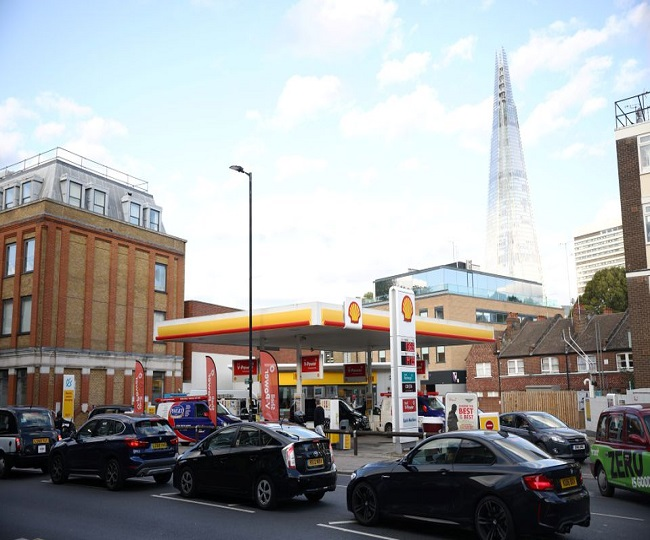 UK puts military on standby as panic buying hits fuel supplies