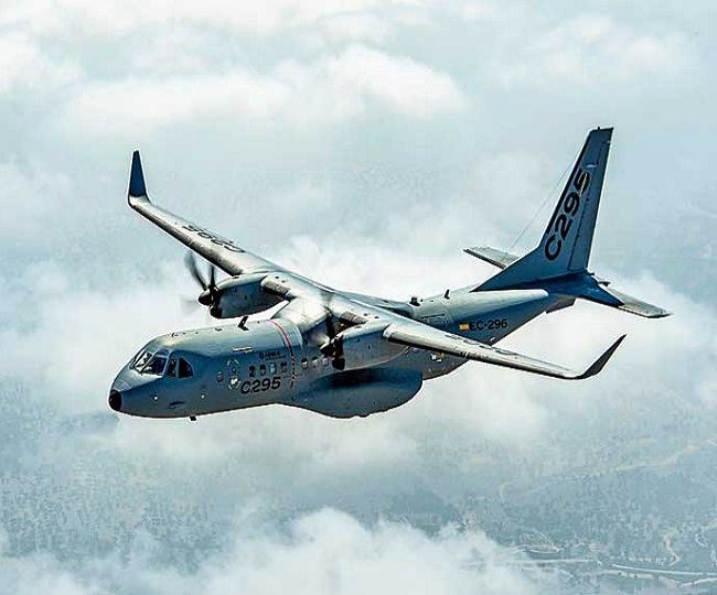 Defence Ministry signs Rs 22,000 cr deal with Airbus for 56 C-295 aircrafts, 40 to be made in India by Tata
