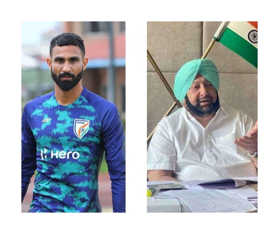 Amrinder Singh, Indian footballer, tweets 'please stop tagging me' after being mistaken as former Punjab CM; Capt reacts