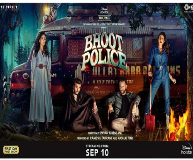 Bhoot Police Twitter Review: Saif Ali Khan, Arjun Kapoor-starrer gets mixed response, netizens say 'good concept but horrible execution'
