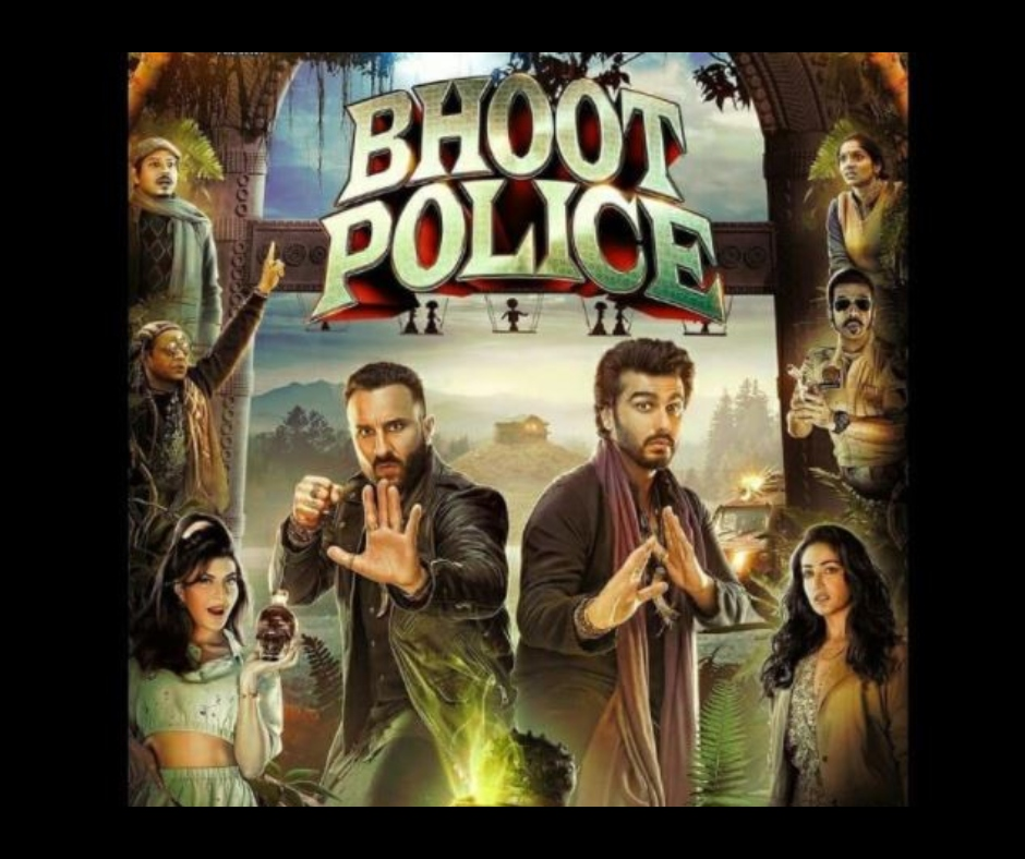 Bhoot Police Movie Review: Saif Ali Khan, Arjun Kapoor's attempt to impress as quirky ghost hunters in banal horror-comedy fall short