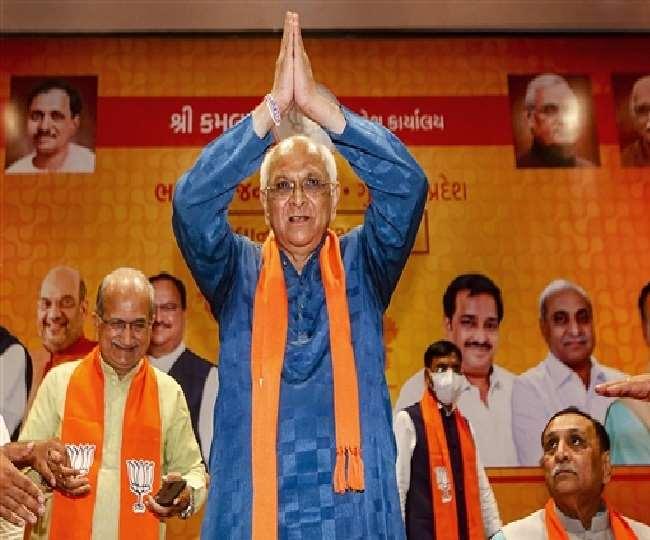 Bhupendra Patel Swearing-in Ceremony: Ghatlodia MLA succeeds Vijay Rupani to take oath as 17th Gujarat CM | Highlights