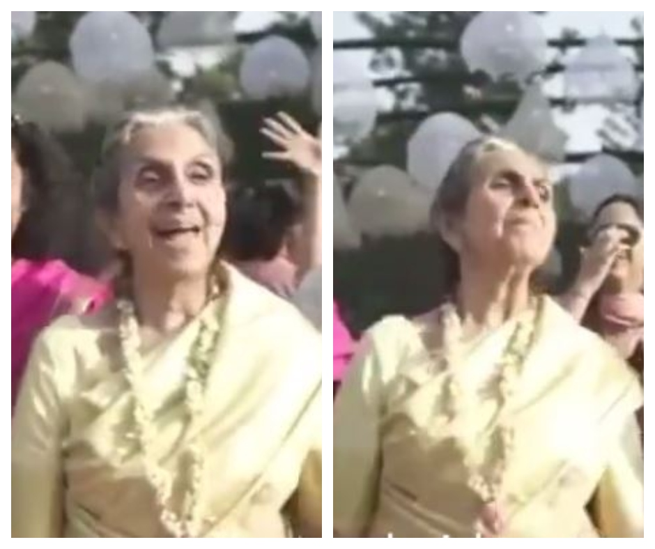 Throwback wedding dance video of a Boss Dadi goes viral, leaving netizens in awe of her swag
