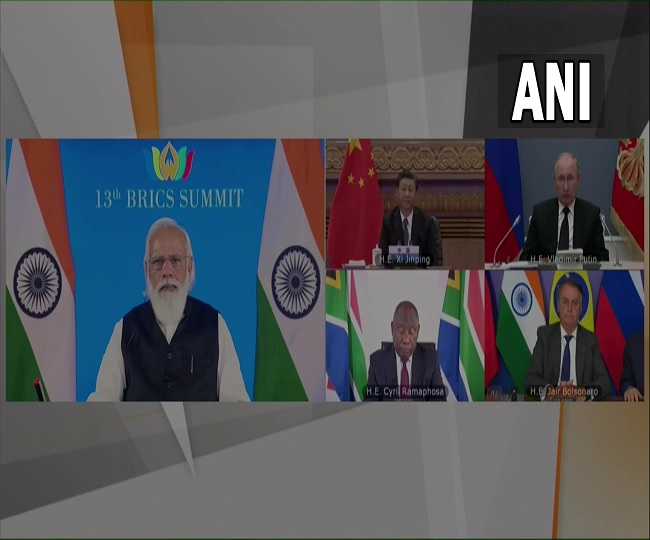 Collective response to COVID showed what we can achieve together: PM Modi at BRICS Summit   Key Highlights