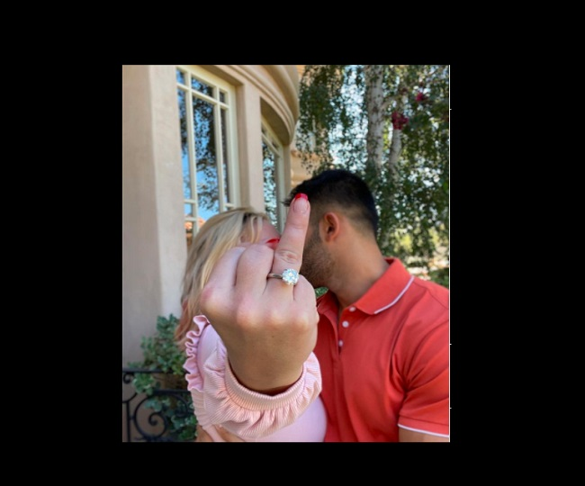'I can't believe it!': Pop singer Britney Spears gets engaged to BF Sam Asghari; flaunts diamond ring   Watch