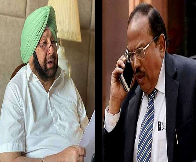 Captain Amarinder Singh meets NSA Ajit Doval day after meeting Amit Shah amid buzz over him joining BJP