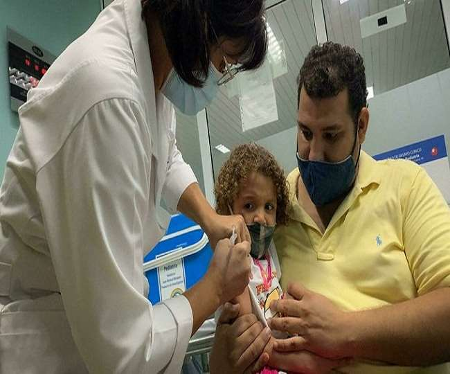 Cuba becomes first country in the world to start inoculating toddlers against COVID-19