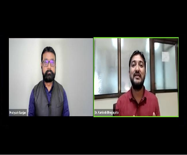 Jagran Dialogues | 'It's lifescience, not treatment of illness': Dr Kamlesh Bhogayata on importance of Ayurveda, Yoga during COVID crisis