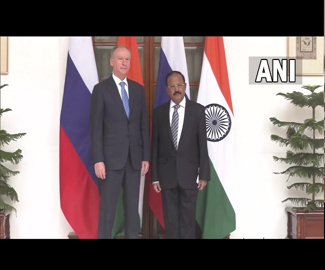 NSA Ajit Doval meets Russian counterpart, discusses Taliban's new Afghan govt, China and Pakistan
