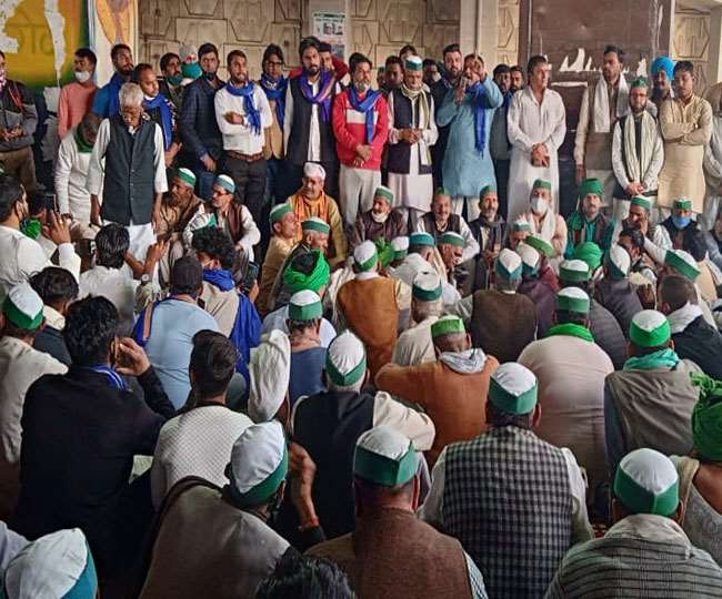 Kisan Mahapanchayat in Karnal: Internet services suspended again as farmers vow to continue protest   Latest Updates