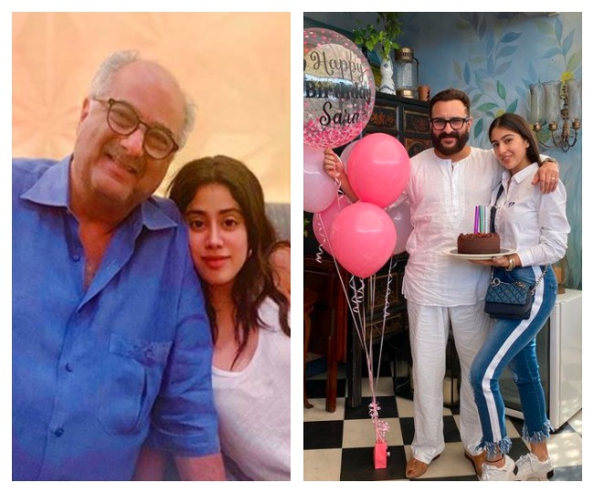 Daughters' Day 2021: From Boney and Janhvi to Saif and Sara, 5 Bollywood's new-age father-daughter duo