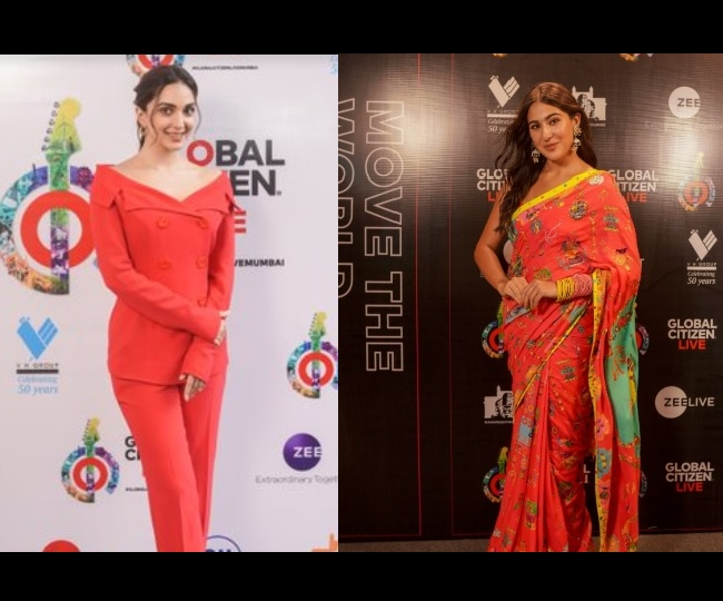 Global Citizens Live red-carpet: From Kiara Advani to Sara Ali Khan; check out the best dressed celebs at the event
