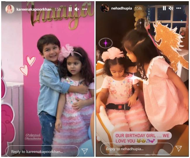 Inside Inaaya's birthday bash: Kareena, Taimur, Neha Dhupia and others attend Soha Ali Khan's daughter's party   See pics