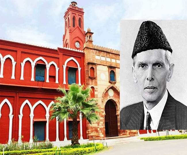 BJP leader puts up posters of Muhammad Ali Jinnah inside public toilet in Aligarh; party says 'will take action'