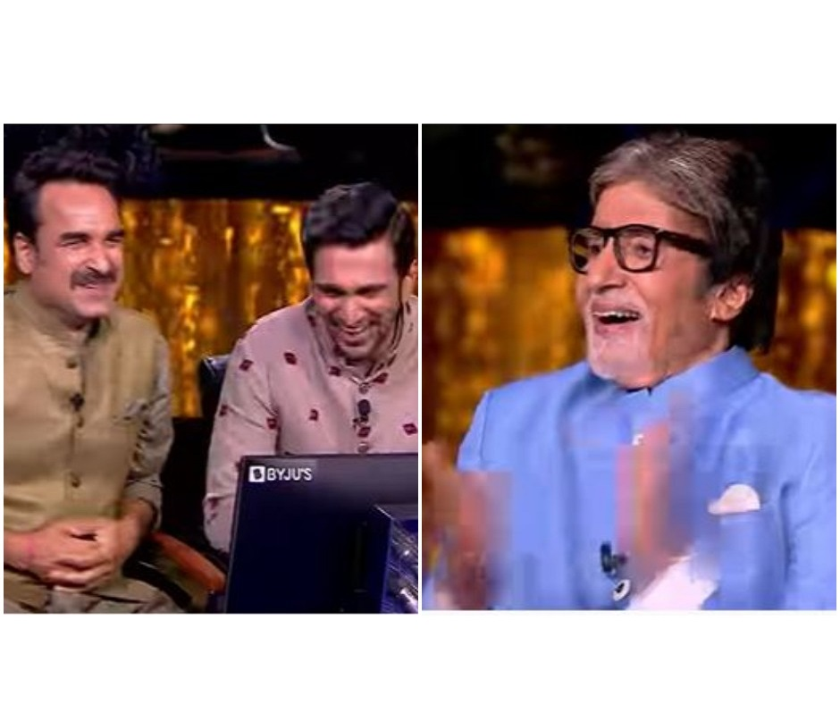 Kaun Banega Crorepati 13: Pankaj Tripathi and Pratik Gandhi's fun conversation leaves Amitabh Bachchan awestruck