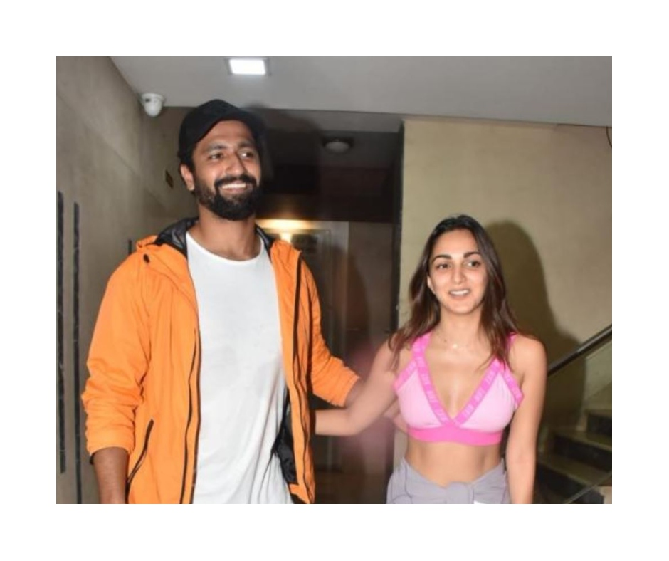 Kiara Advani and Vicky Kaushal spotted after dance rehearsal for upcoming film Mr. Lele | Watch video