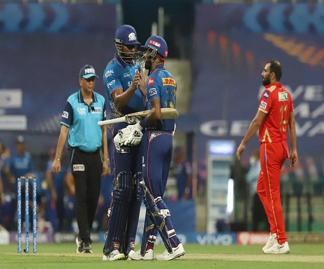 IPL 2021, MI vs PBKS: Pollard, Hardik help Mumbai beat Punjab by 6 wickets