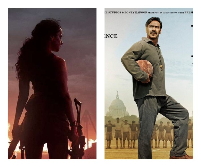 From Kangana Ranaut's Dhaakad to Ajay Devgn's Maidaan; 5 films and web series to release in October 2021