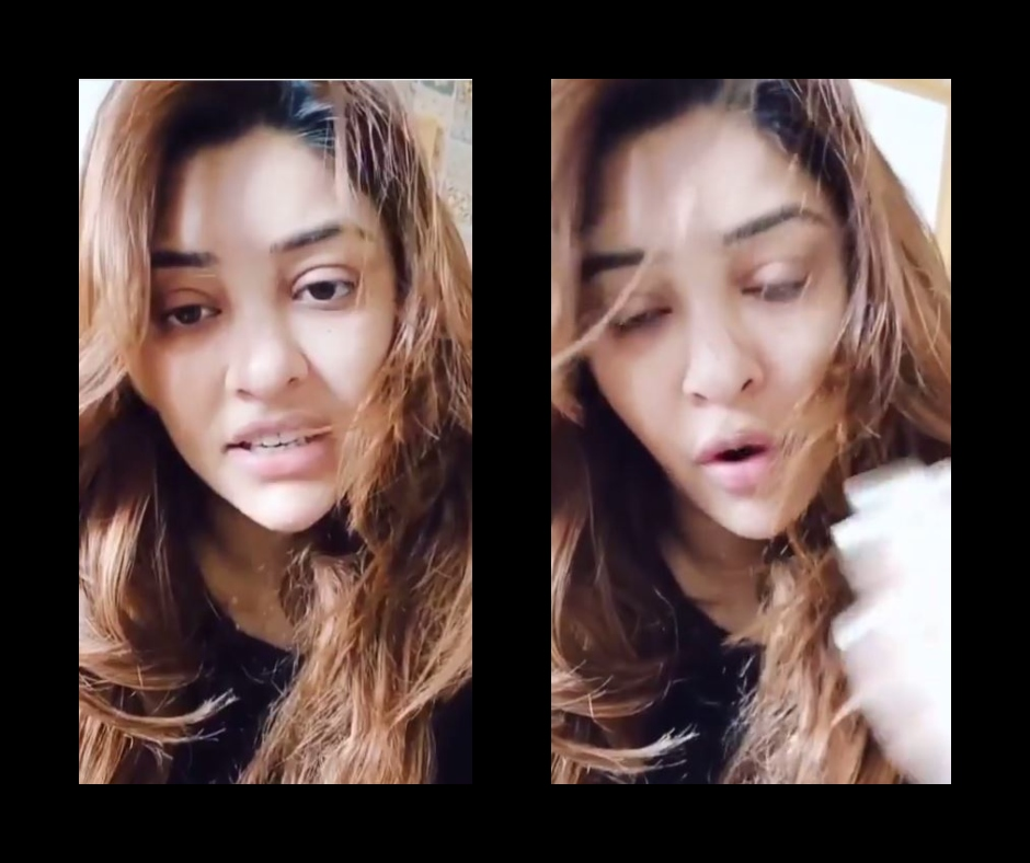 Actress Payal Ghosh shares video; suspects being attacked with acid   Watch