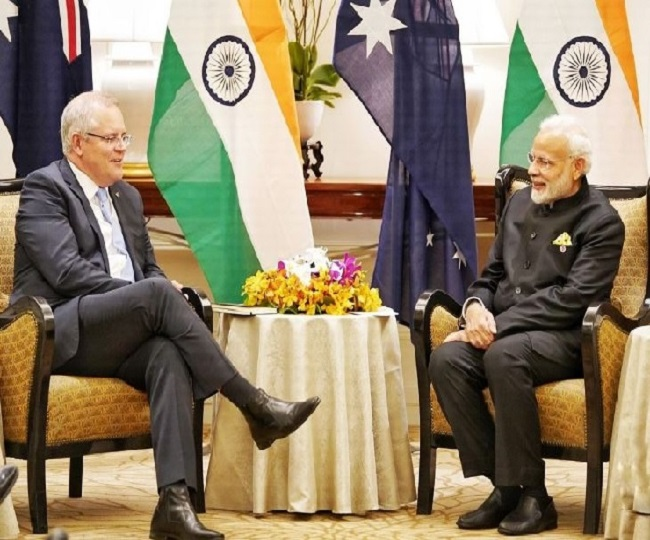 India, Australia to hold '2+2' ministerial dialogue on Saturday; Afghanistan crisis, China's role in Indo-Pacific on agenda