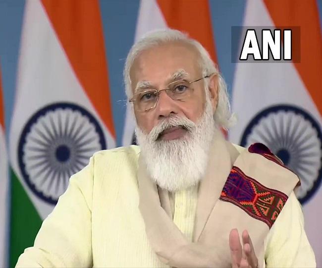 PM Modi lauds Himachal over COVID vaccination drive, announces online platform for SHGs