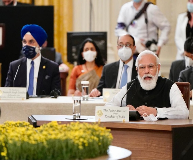 'Confident Quad will act as a force for global good': PM Modi at QUAD Summit in US