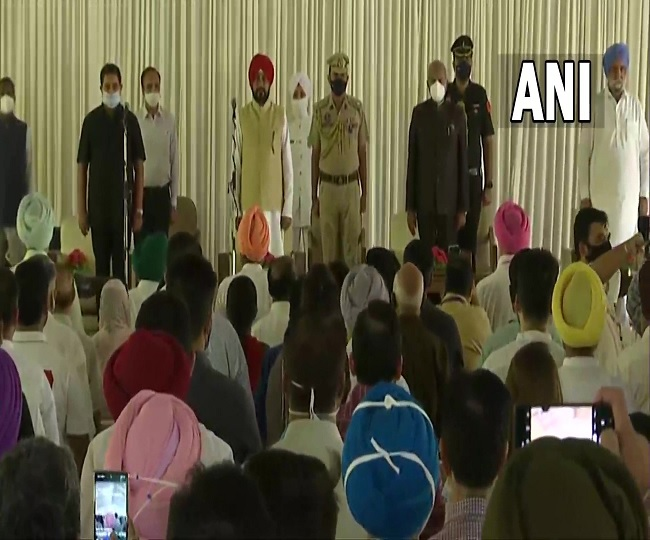 Punjab Cabinet Expansion: 6 new faces among 15 inducted in Charanjit Singh Channi's new team | List here
