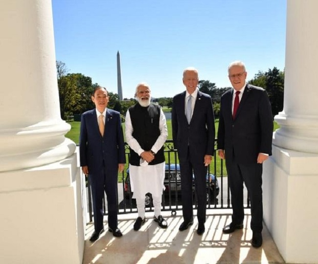 'COVID vaccines, climate change, global good'; What India, Japan, US and Australia discussed at QUAD Summit