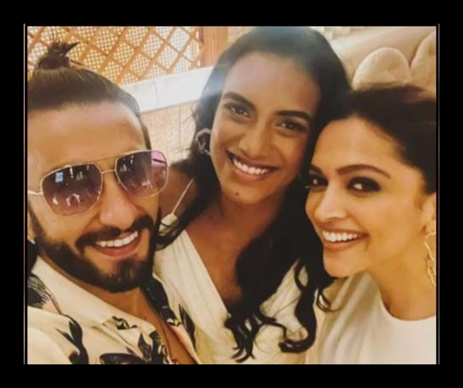 Ranveer Singh and Deepika Padukone spend quality time with PV Sindhu at dinner party | See pic and video