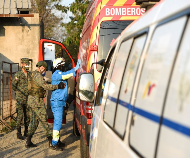 Over 100 killed, 52 wounded in gang war at Ecuador prison