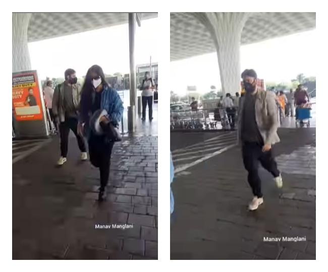 Newlyweds Rhea Kapoor-Karan Boolani spotted at Mumbai airport; jet-off for their honeymoon   See pics and video