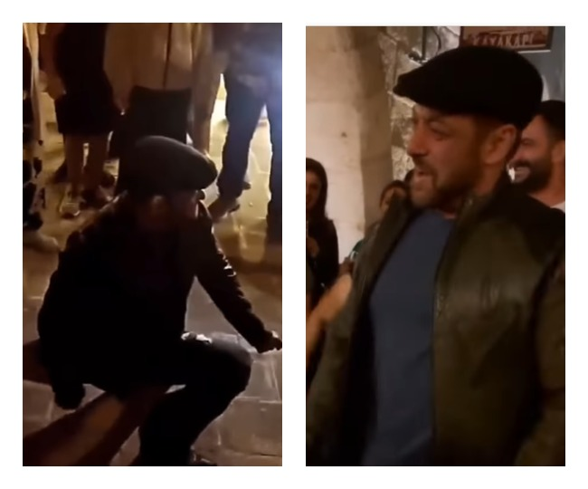 Salman Khan dances to 'Jeene Kai Hai Chaar Din' with Turkish fans   WATCH