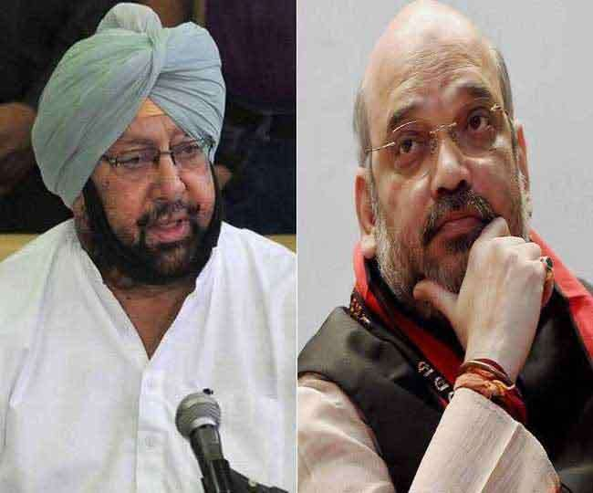 Captain Amarinder Singh meets Amit Shah at his Delhi residence amid buzz over joining BJP ahead of Punjab polls