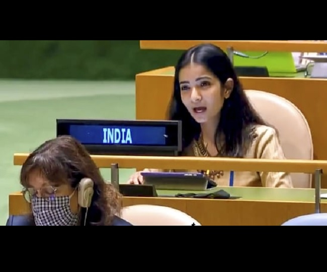 Sneha Dubey, the 2012 batch IFS officer who gave a fiery response to Pak PM Imran Khan on Kashmir at UNGA