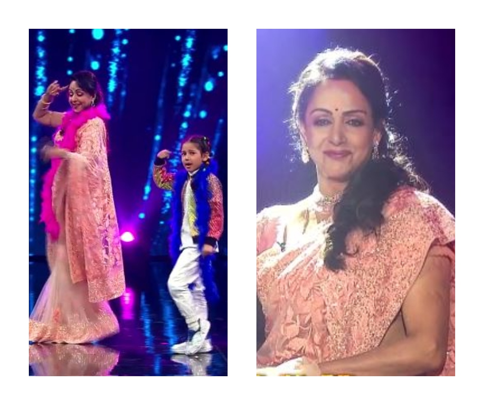 Super Dancer Chapter 4: Hema Malini leaves everyone mesmerised with her dance on song 'Tune O Rangeele'
