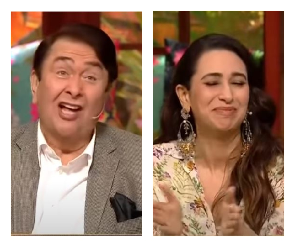 The Kapil Sharma Show: Randhir Kapoor leaves daughter Karisma Kapoor embarrassed as he talks about his onscreen romance | Watch