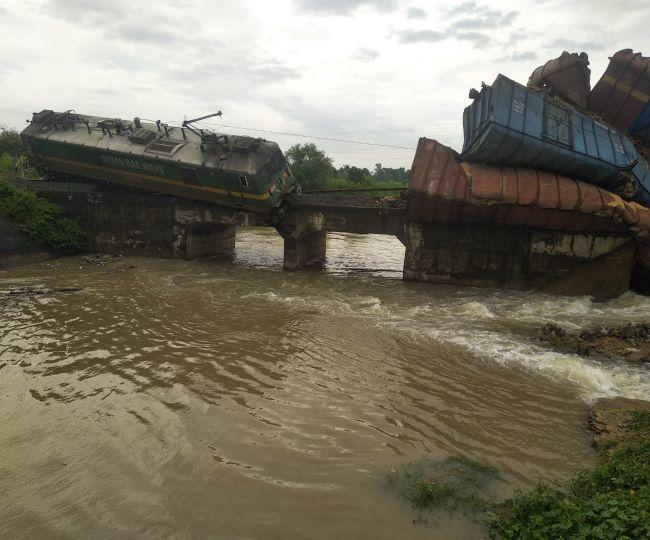 Odisha Train Accident: Nine wagons of goods train derail, fall into river